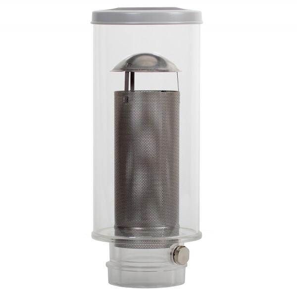 Regenwasserfilter - 2 in 1 - universal Fallrohrfilter von Huß