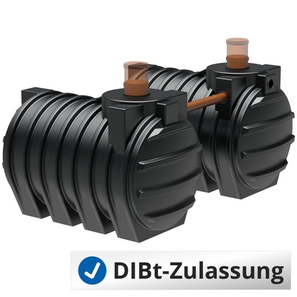 AQa.Line Abwassersystem 6000 L (mit DIBt-Zulassung)